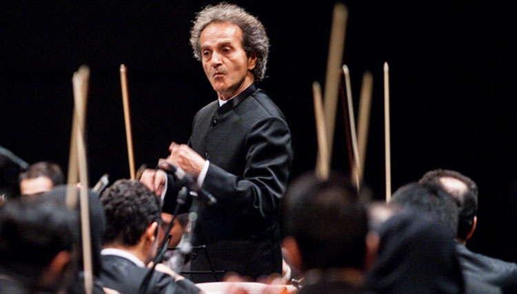 «شهرداد روحانی» رهبر ارکستر سمفونیک شد