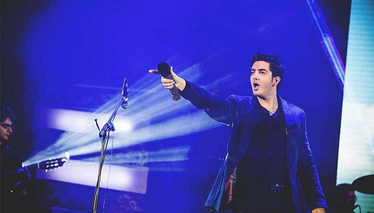 کنسرت متفاوت فرزاد فرزین در تهران