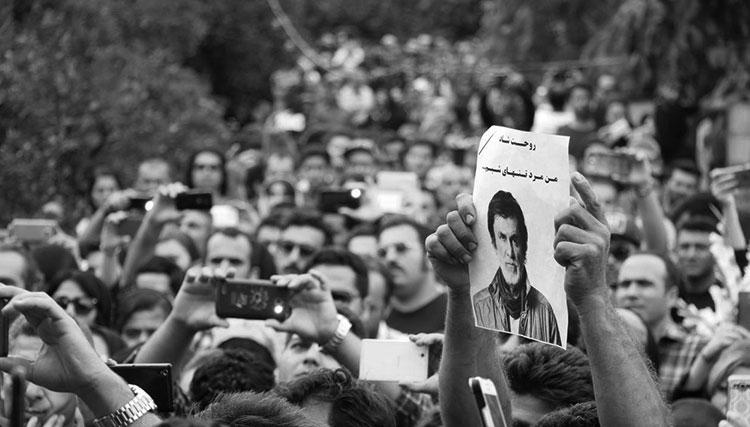 گزارش اختصاصی تصویری از مراسم خاکسپاری حبیب در رامسر