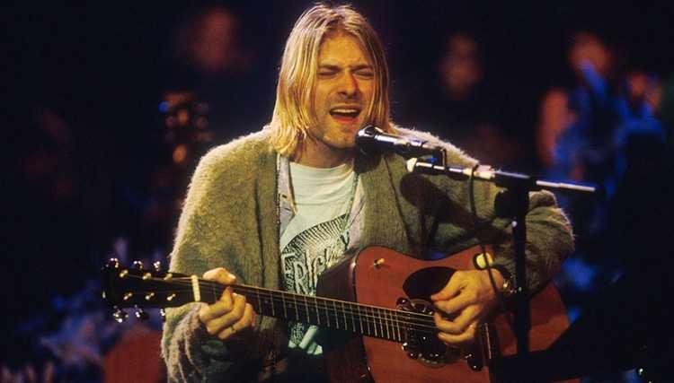 نمایشگاه آثار Kurt Cobain خواننده نیروانا