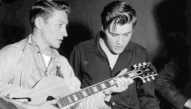 اسکاتی مور، اولین گیتاریست الویس پریسلی درگذشت
