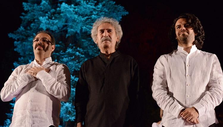 کنسرت پورناظریها به «اردوان کامکار» تقدیم شد