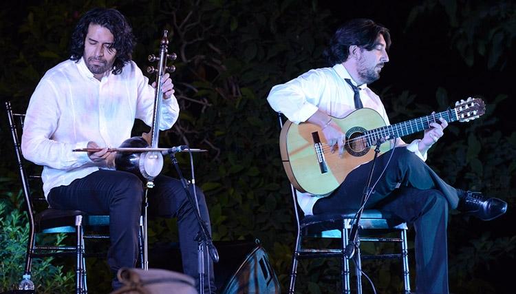 اجرای مشترک سهراب پورناظری و آنتونیو ری در کاخ نیاوران