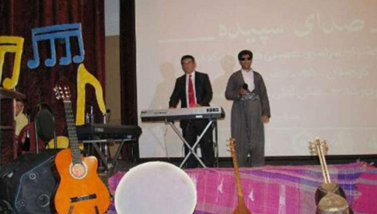 سومین جشنواره موسیقی نابینایان و کم بینایان کشور در بانه پایان یافت