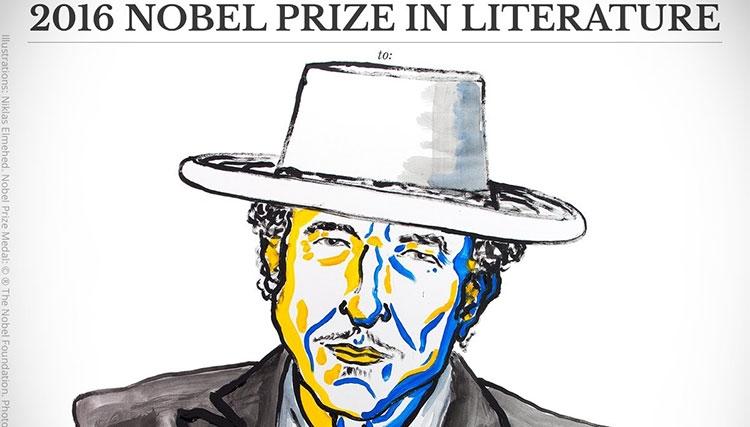باب دیلن برنده نوبل ادبیات شد