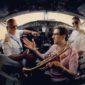 ترومپت نوازی امید حاجیلی در هواپیما!