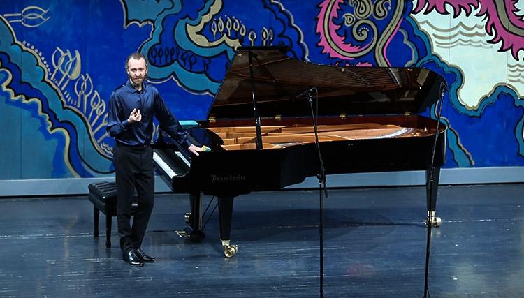 ارکستر یگور شوتسوف از اکراین و آنسامبل زهی شهرزاد در تالار وحدت