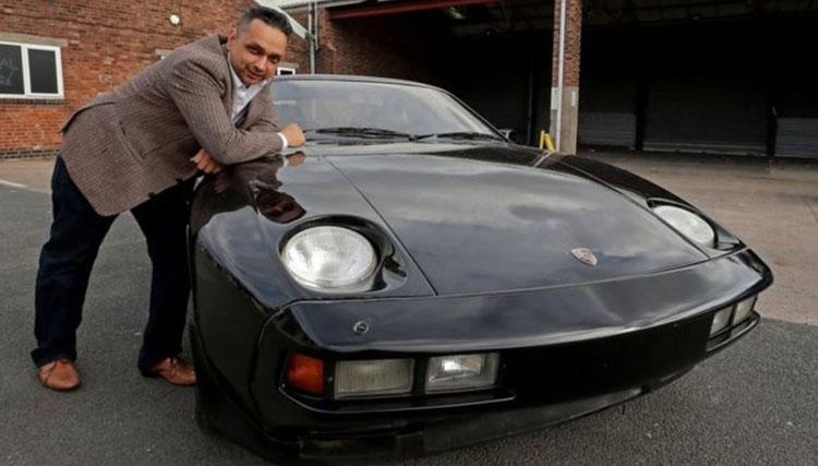 خودروی شخصی جرج هریسون به حراج گذاشته شد