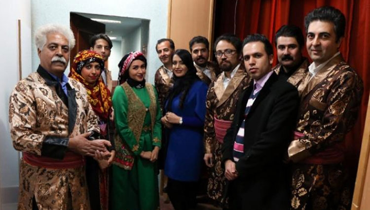 کنسرت گروه تال در کرمانشاه برگزار شد