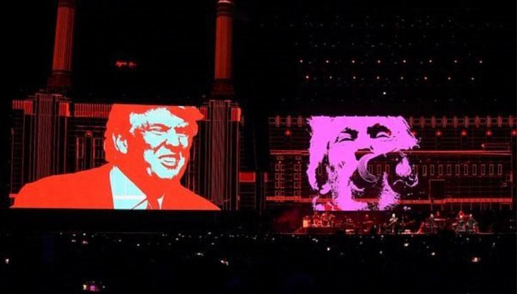«پینک فلوید» در اعتراض به ترامپ کنسرت میدهد