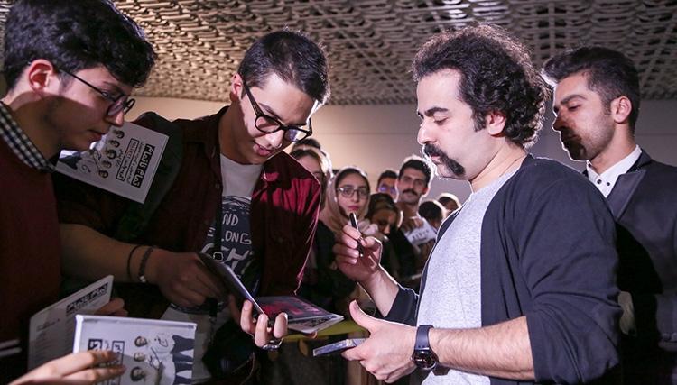 جدیدترین آلبوم پالت با حضور گسترده هواداران رونمایی شد