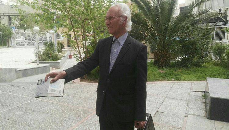 امینالله رشیدی در انتخابات ریاست جمهوری ثبت نام کرد