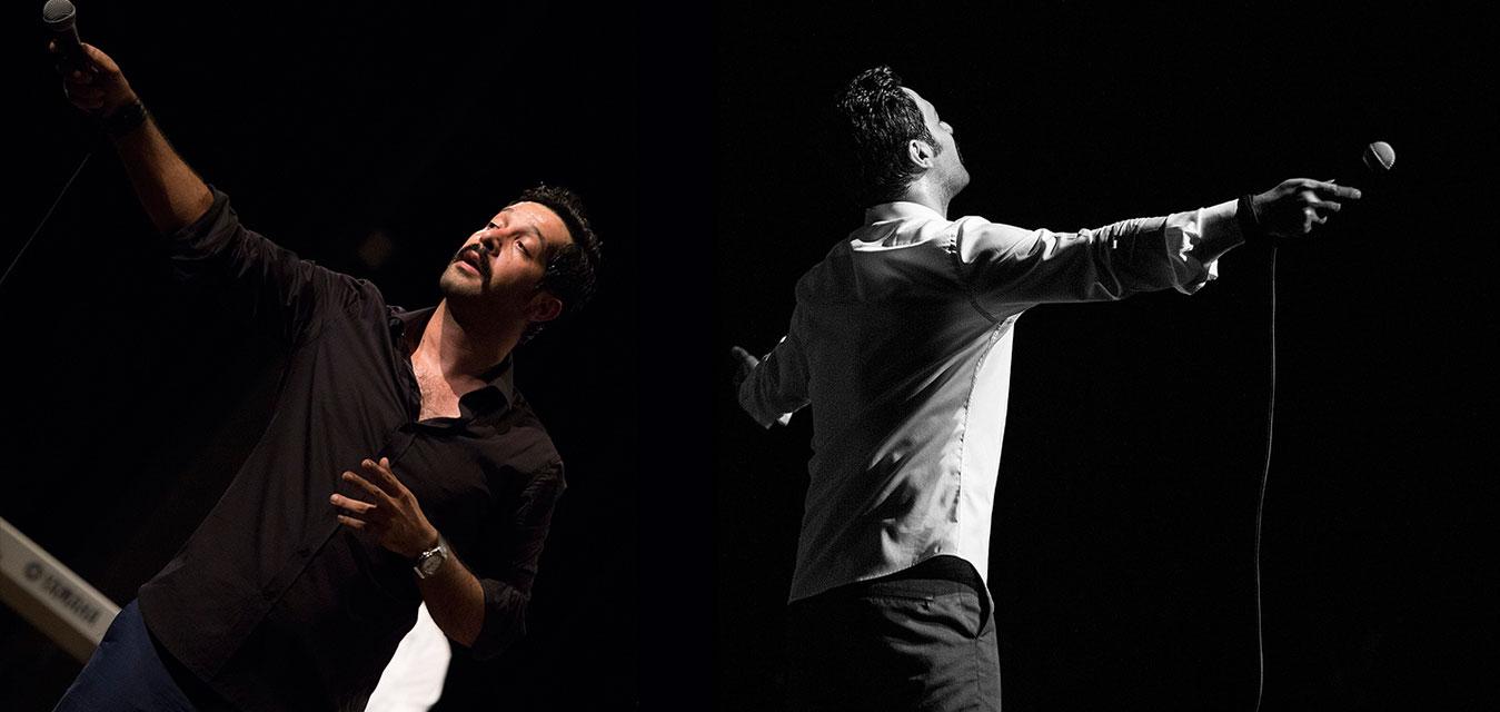 نخستین کنسرت کامران تفتی در ایوان شمس