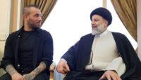 امیر تتلو و سید ابراهیم رئیسی دیدار کردند (+ویدیو)