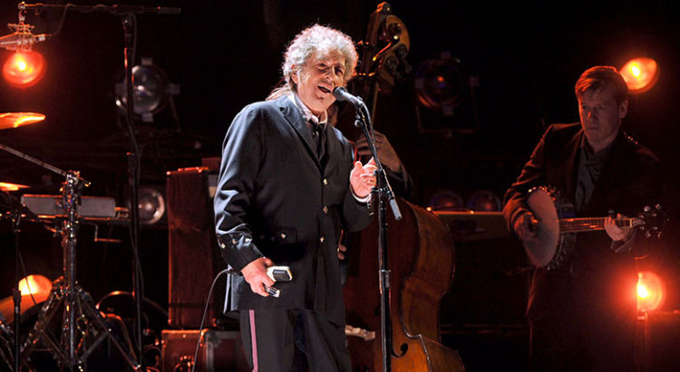 سرانجام باب دیلن برای نوبل سخنرانی کرد