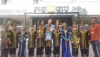 تقدیر از گروه «کاغذ رنگی» ایران در فستیوال موسیقی فولکلور گرجستان
