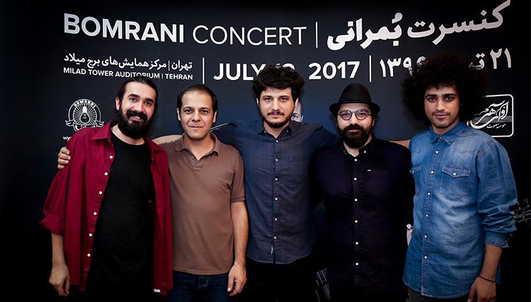 از جواد ظریف و پلاسکو تا کیهان کلهر و محمدرضا شجریان در کنسرت بمرانی!