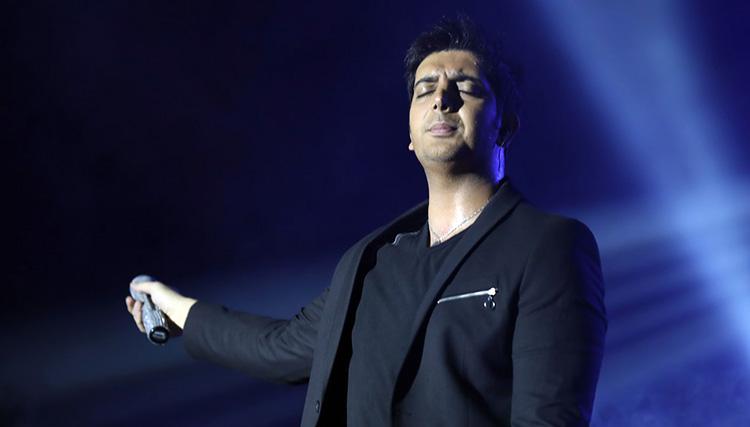 کنسرت فرزاد فرزین در اصفهان برگزار شد