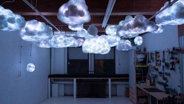 لامپهای شناور ابری موسیقی پخش میکنند!