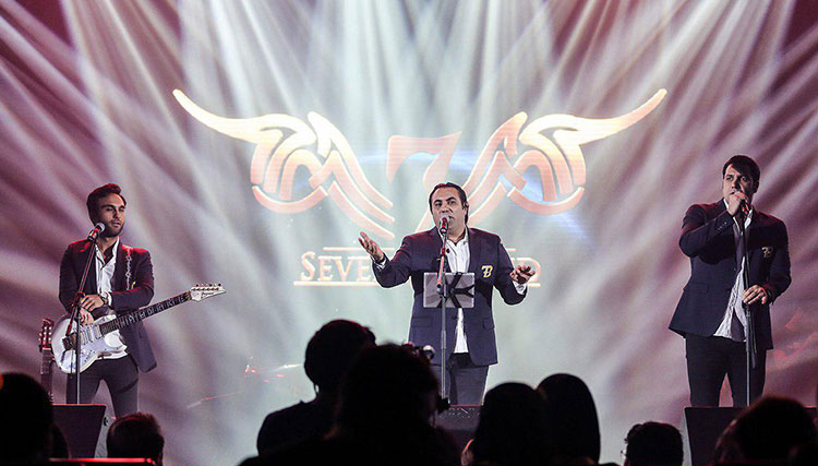 کنسرت گروه سون در متل قو لغو شد!