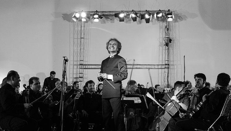 ارکستر سمفونیک تهران در کرج روی صحنه رفت