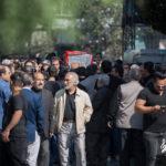تشییع پیکر حامد هاکان