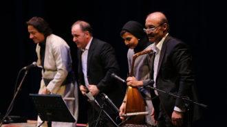 محمدجلیل عندلیبی «کوردهواری» را در تالار وحدت اجرا کرد