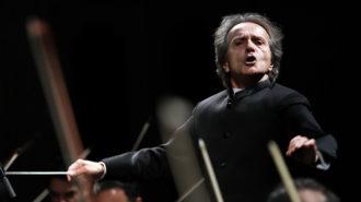 ارکستر سمفونیک تهران در تالار وحدت روی صحنه رفت