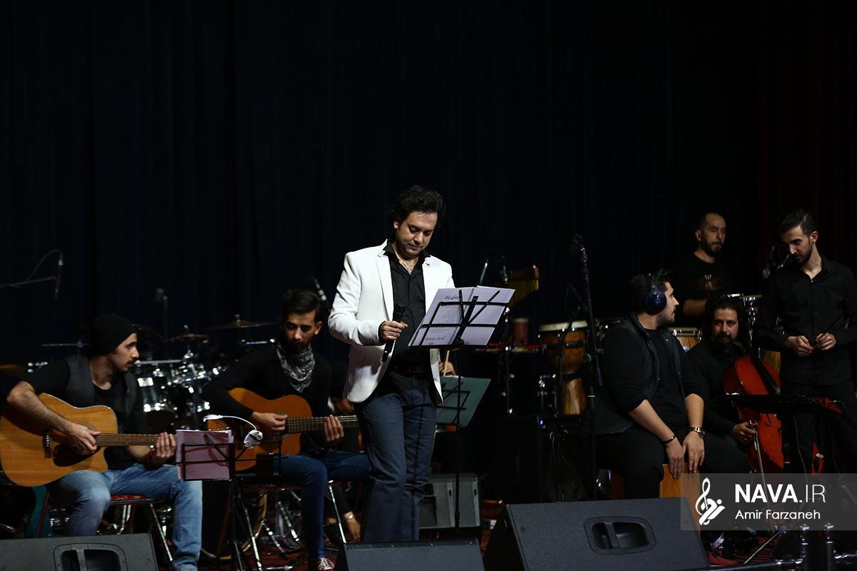 Kamran Saffarifar 5 Bahman 96 40 - کنسرت کامران صفاری فر با سبک جدید