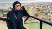 تیپ متفاوت بازیگر زن پرحاشیه در کنار خواننده مشهور +عکس