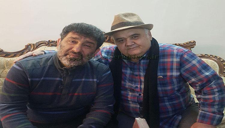 عیادت اکبرعبدی از سعید حدادیان! + عکس