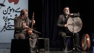 دونوازی هادی منتظری و مسعود حبیبی در جشنواره موسیقی فجر