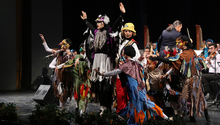 اجرای ارکستر پارس در سومین روز از جشنواره موسیقی فجر