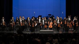 تالار وحدت میزبان ارکستر فیلارمونیک تهران شد