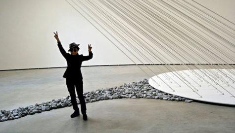 قطعه سنگی به ارزش بیش از ۱۲ هزار پوند از اثر هنری یوکو اونو دزدیده شد