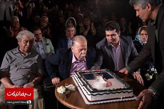جشن تولد استاد محمد علی کشاورز