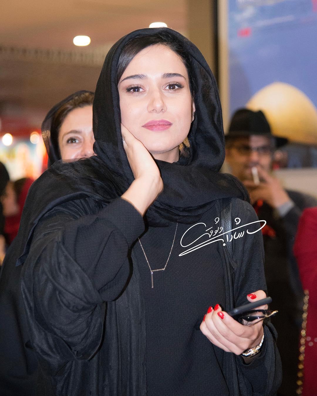 پریناز ایزدیار در حاشیه جشنواره جهانی فیلم فجر