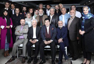 جشن تولد مهران مدیری با حضور هنرمندان