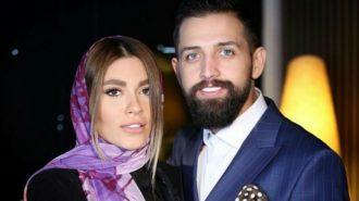 همسر محسن افشانی با گریم مردانه در استادیوم آزادی دستگیر شد!