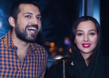 اشکان خطیبی و همسرش آناهیتا