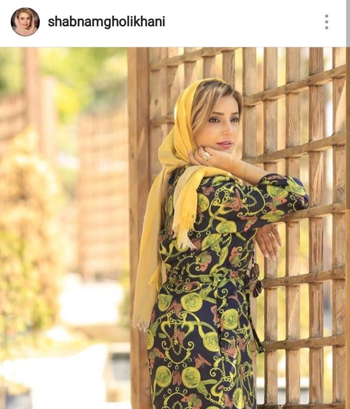 شبنم قلی خانی بازیگر محبوب