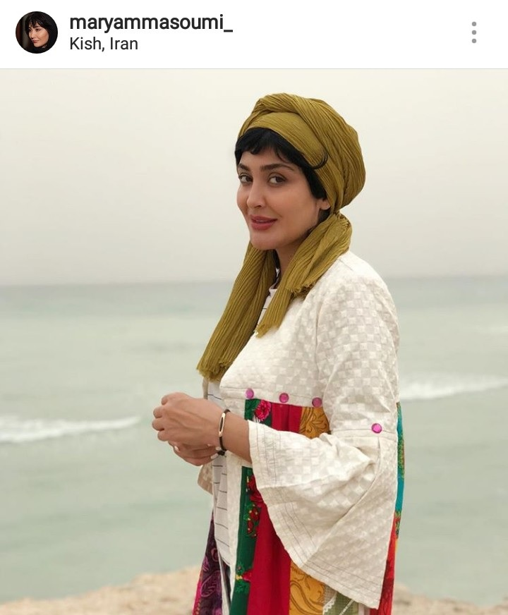 مریم معصومی بازیگر مطرح سینما و تلویزیون