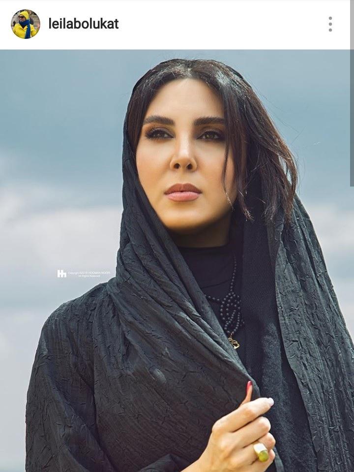 لیلا بلوکات بازیگر زن پرحاشیه