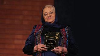 آیین بزرگداشت ملیحه سعیدی در خانه هنرمندان برگزار شد