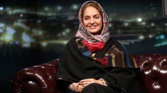جنجال توئیتری مهناز افشار برای همسرش