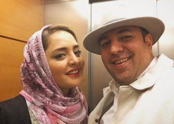 دورهمی زوج بازیگر با احسان خواجه امیری و همسرش + عکس