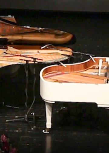 گزارش ویدیویی کنسرت پیانو جاودانه های پاپ