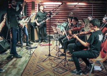 گزارش از تمرین کنسرت ارکسترال گروه آتریا