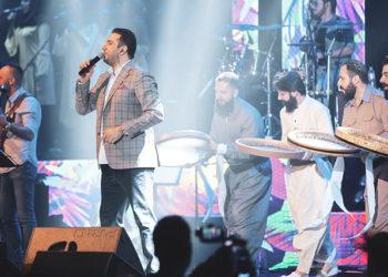 نخستین شب از کنسرتهای پاییزی امید حاجیلی در تهران