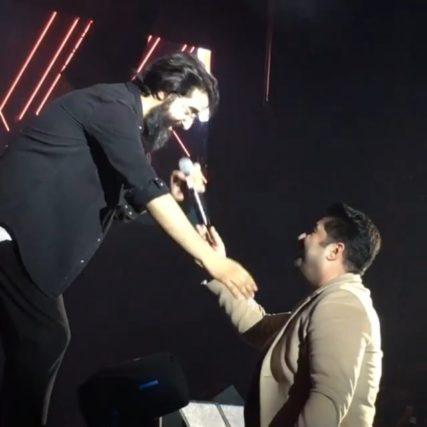اجرای زنده بهنام بانی در کنسرت هوروش بند